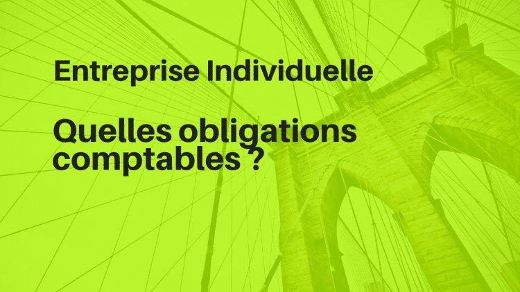 Quelles obligations comptables pour la micro-entreprise et entreprise individuelle ?
